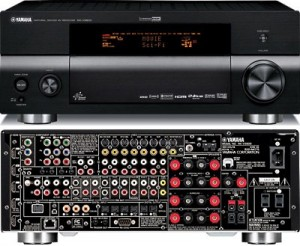 Setting up a Digital Source for Zone Two on a Yamaha RX V